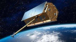 Simulación del satélite espía español PAZ