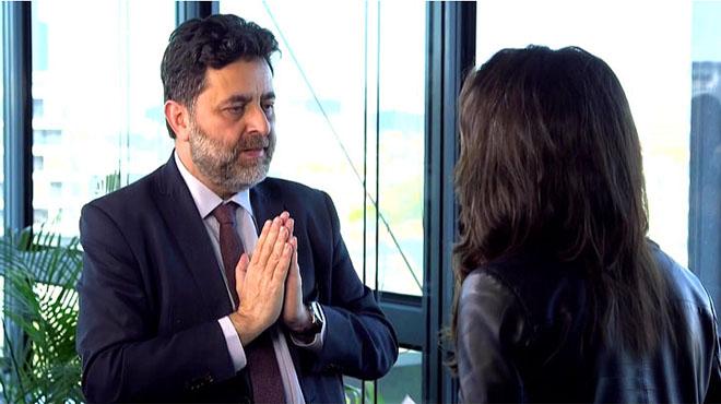Ignacio García Bercero con Ana Pastor en Bruselas (El objetivo).