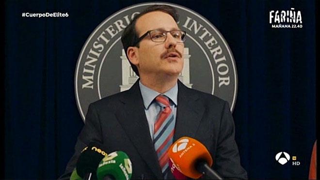 La rara catarsis del ministro del Interior