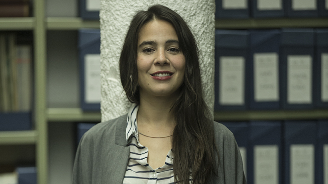 Interpreta a Clara (Inspirada en Inés Arrimadas): Estoy muy contenta con la evolución del papel de Clara y delresultado de la serie.