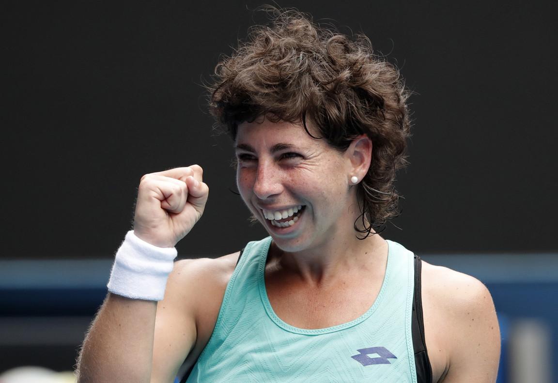 La tenista grancanaria Carla Suárez.
