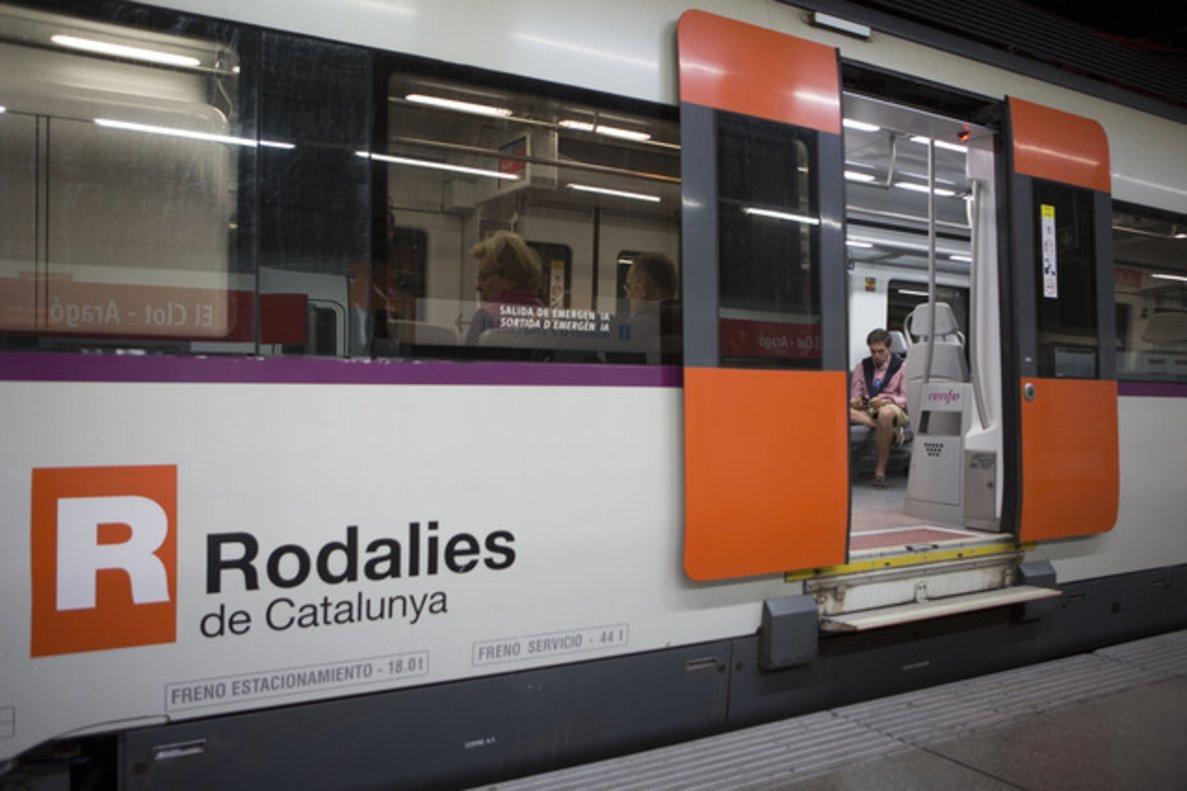 Un tren de Rodalies en una imagen de archivo.