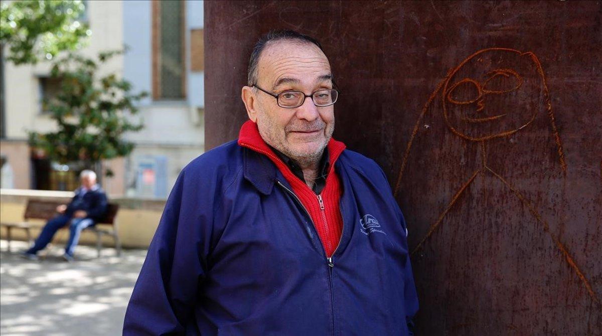 Manel Pousa, el 'pare Manel'.
