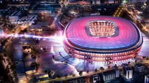 Una imagen del proyecto ganador del nuevo Camp Nou.