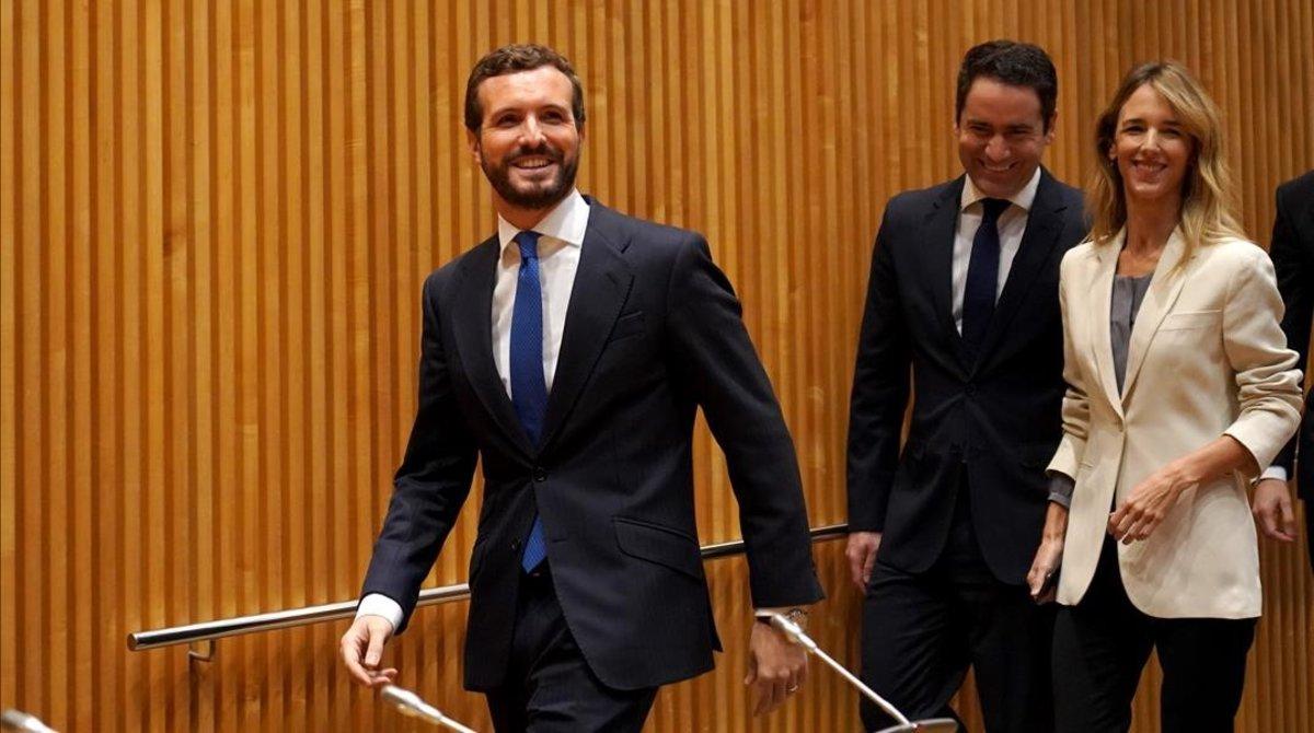 Casado acusa Sánchez d'utilitzar Catalunya com a «coartada» per a un «canvi de règim»