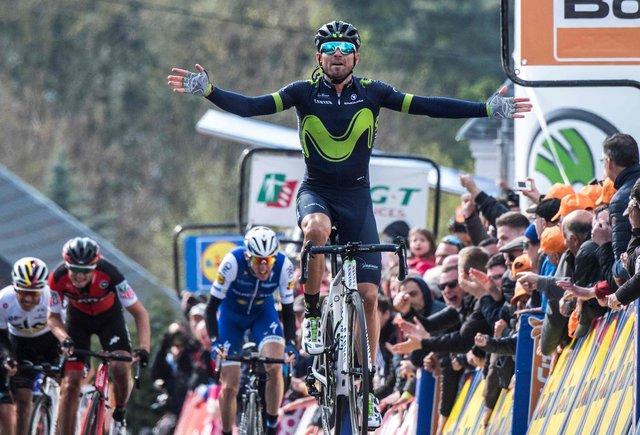 ¡Huy, Huy, Huy! el mur de Valverde
