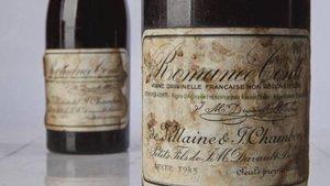 El vino de 1945 subastado por 482.490 euros en Nueva York