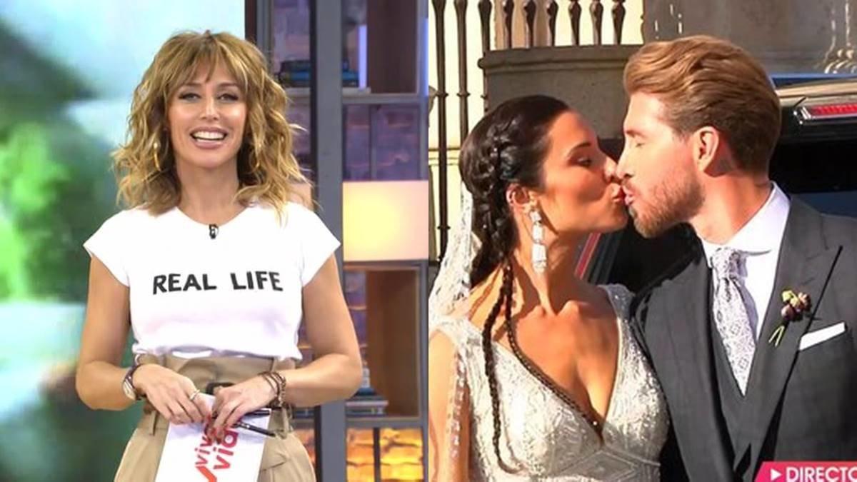 'Viva la vida' arrasa gracias a la boda de Pilar Rubio y Sergio Ramos