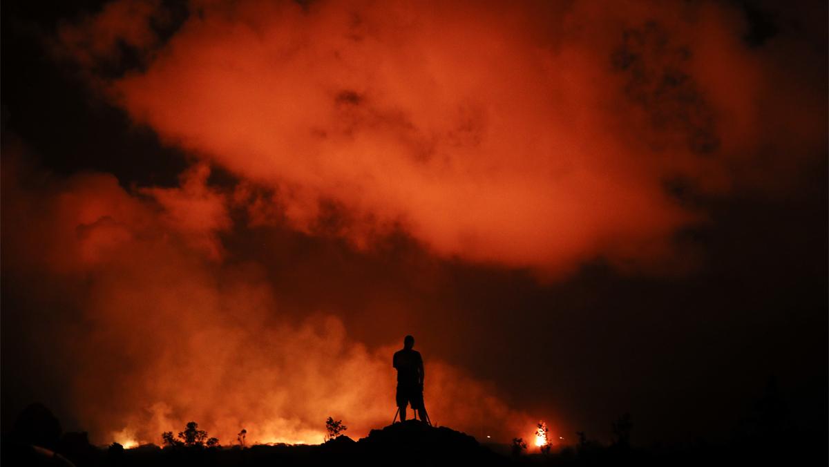 La lava del Kilauea se acerca a una planta térmica con sustancias tóxicas