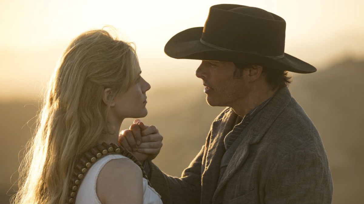Escena de la segunda temporada de Westworld.