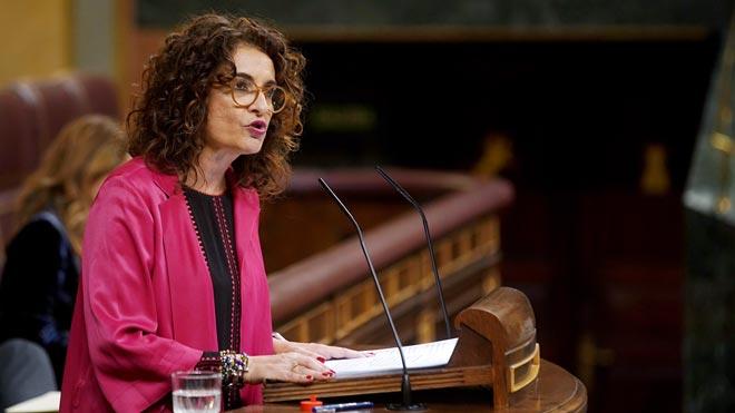 Irene Montero a Pablo Casado: El milagro económico del PP está en la cárcel.