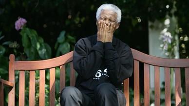 Nelson Mandela: ponga un líder en su felpudo