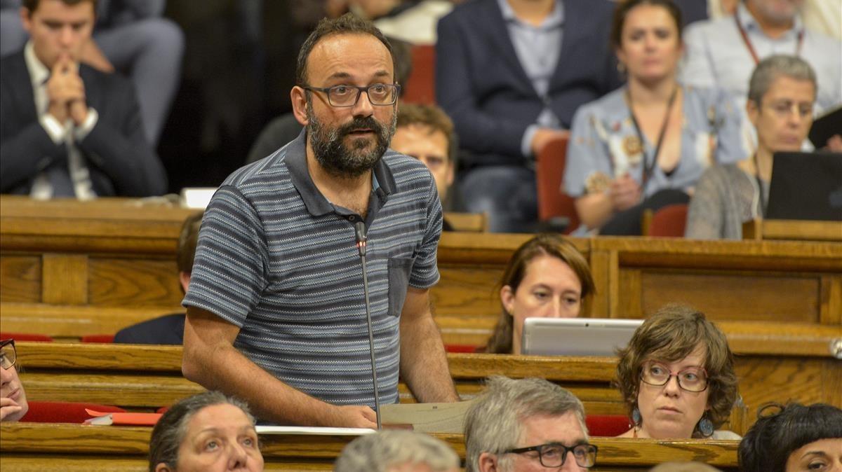 """Benet Salellas assegura que el Govern català """"no estava preparat"""" per a la DUI"""