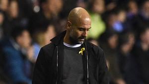 Aficionats del City demanen tenyir de groc Wembley en suport a Guardiola