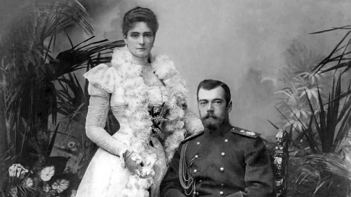 El zar y la zarina.