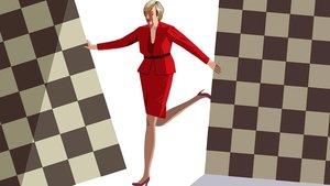 La mujer que nunca ganaba a las damas