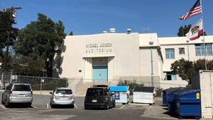 Escuela de primaria cerca de Hollywood (California) de la que fue alumno Michael Jackson.