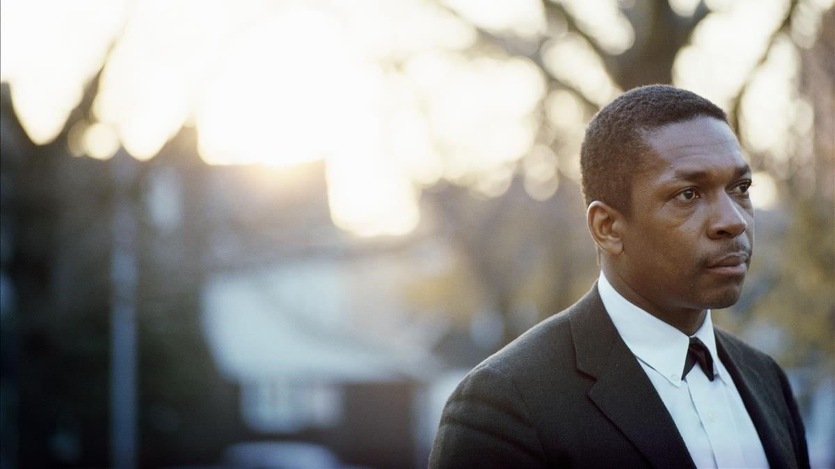 John Coltrane, en la época en que grabó 'Blue world'.