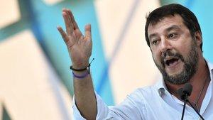 Salvini tomba la coalició del M5S i el PD a l'Úmbria