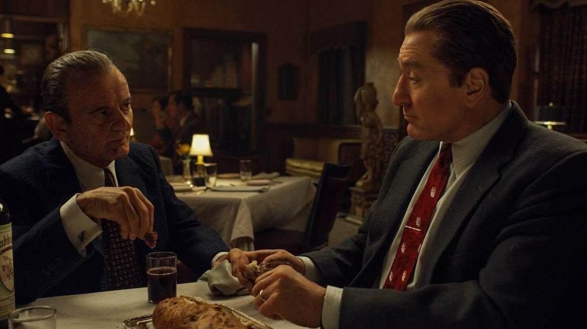 Joe Pesci y Robert De Niro, en 'El irlandés'.