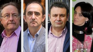 Josep Ramoneda, Daniel Innerarity, Ignacio Sánchez-Cuenca y Cristina Monge.