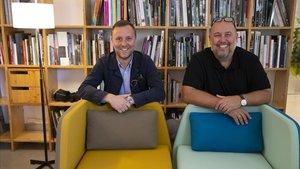 Maximià Torruella y Patricio Martínez, fundadores y socios-directores del Pmmt Arquitectura