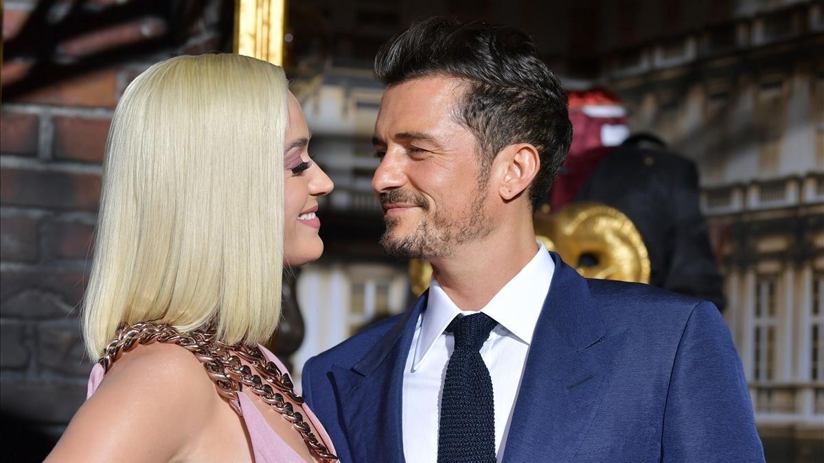Katy Perry y Orlando Bloom anuncian el nacimiento de Daisy