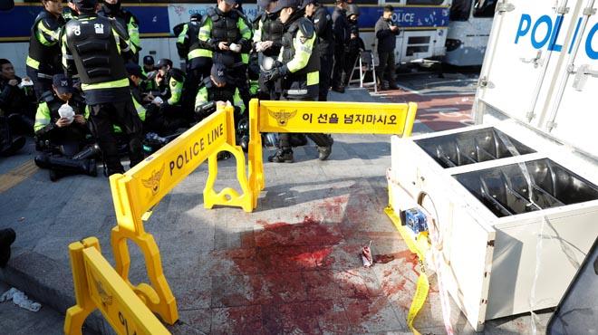 Fallecen dos personas en Seúl en las violentas protestas contra la destitución de la presidenta