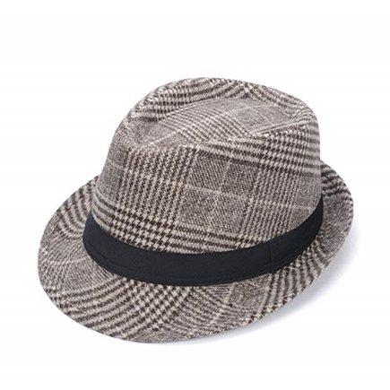 Sombrero de cuadros británicos