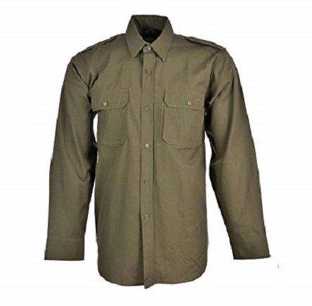 Camisa color verde oliva
