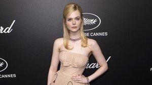 La actriz estadounidense Elle Fanning, el pasado mayo en Cannes.