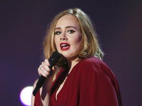 La cantante Adele en los British Awards en Londresel pasado octubre