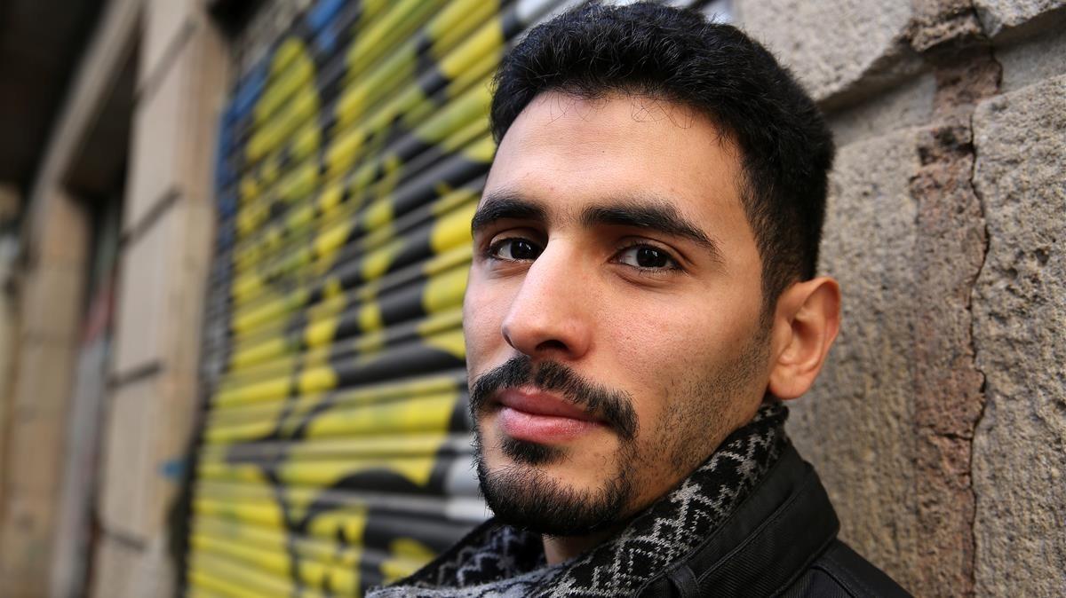 El pianista sirio-palestinoAeham Ahmad en Barcelona.