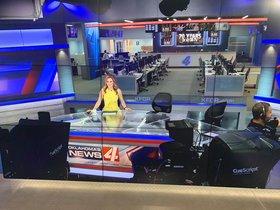 Ali Meyer trabaja en la cadenaKFOR de Oklahoma.