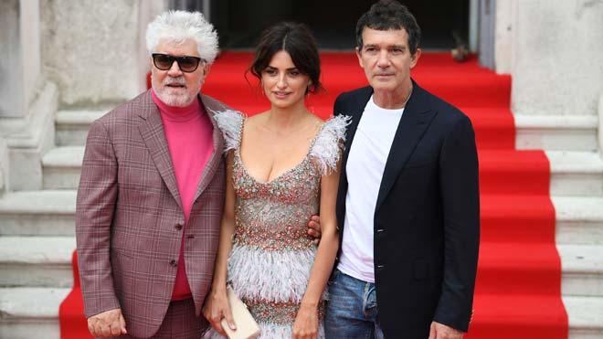 Almodóvar presenta 'Dolor y gloria' en Londres.
