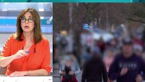 """Ana Rosa se indigna al ver la Barceloneta repleta de gente y reflexiona: """"Igual los medios nos hemos equivocado"""""""