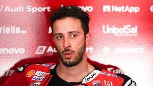 Dovizioso se fractura una clavícula a 20 días de arrancar MotoGP