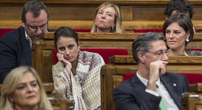 "Andrea Levy: ""No me consta ninguna queja formal por mi actitud en el Parlament"""