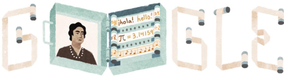 Ángela Ruiz Robles, la precursora del e-book, protagonista del último 'doodle' de Google.