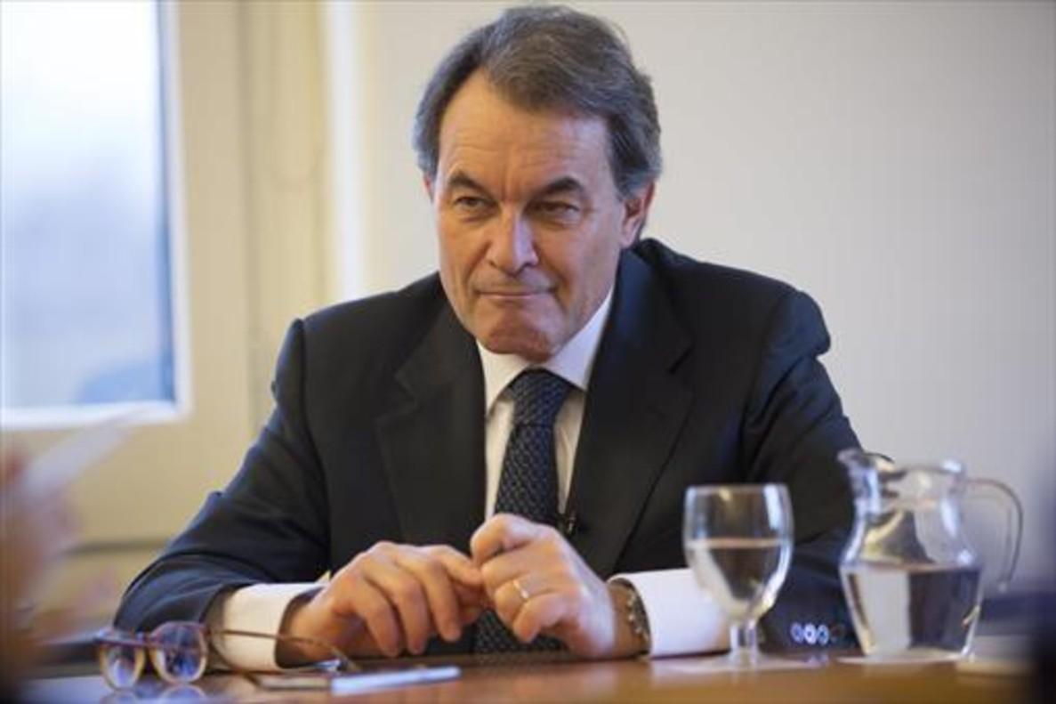 El expresident de la Generalitat, Artur Mas.