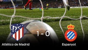 El Atlético de Madrid gana en el Wanda Metropolitano al Espanyol