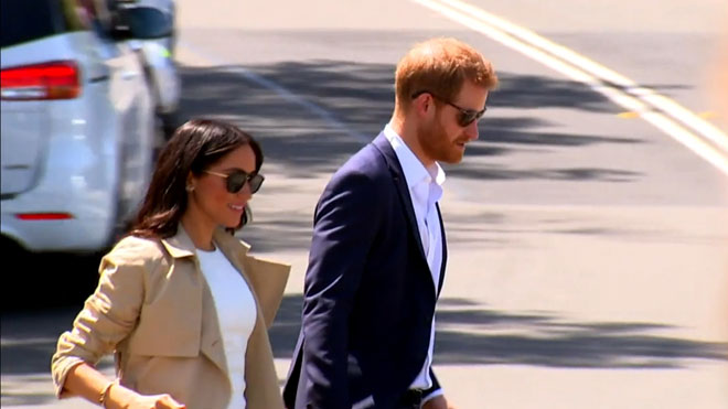 Avance del documental 'Harry y Meghan: Crisis en la familia real'.