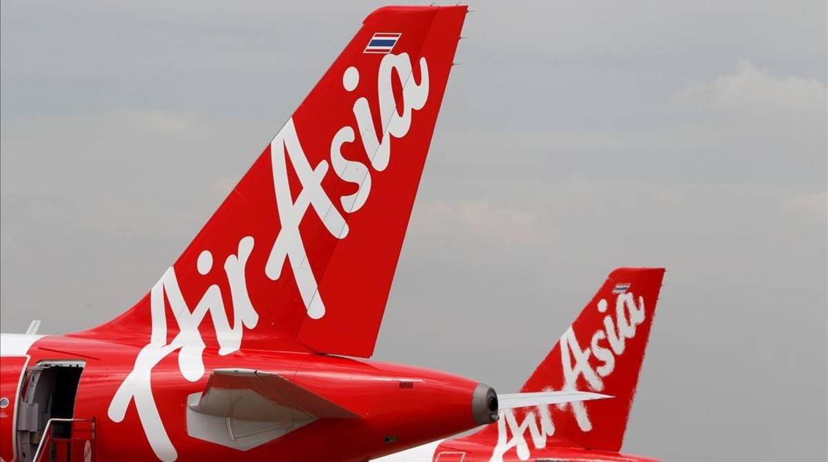 Aviones de AirAsia.