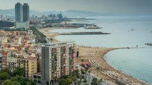 Barcelona, una ciudad abierta al Mediterráneo.