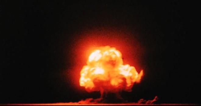Explosión de la bomba nuclear Trinity