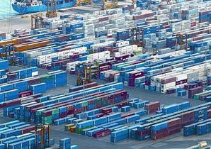 El bon funcionament el 2012 del moll del port de Barcelona (foto) ha pal·liat el dèficit comercial.