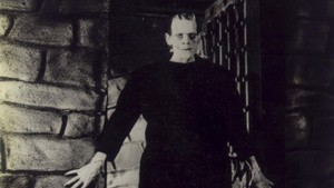 Boris Karloff, en Frankenstein, de James Whale