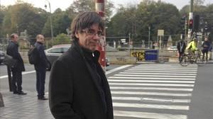 La jueza cursa la orden de detención del 'expresident' Puigdemont