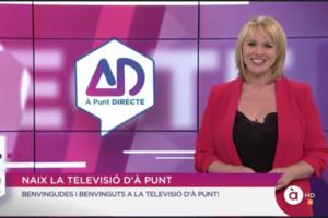 Carolina Ferre regresa a la televisión pública valenciana: así ha sido su estreno en 'À Punt Directe'