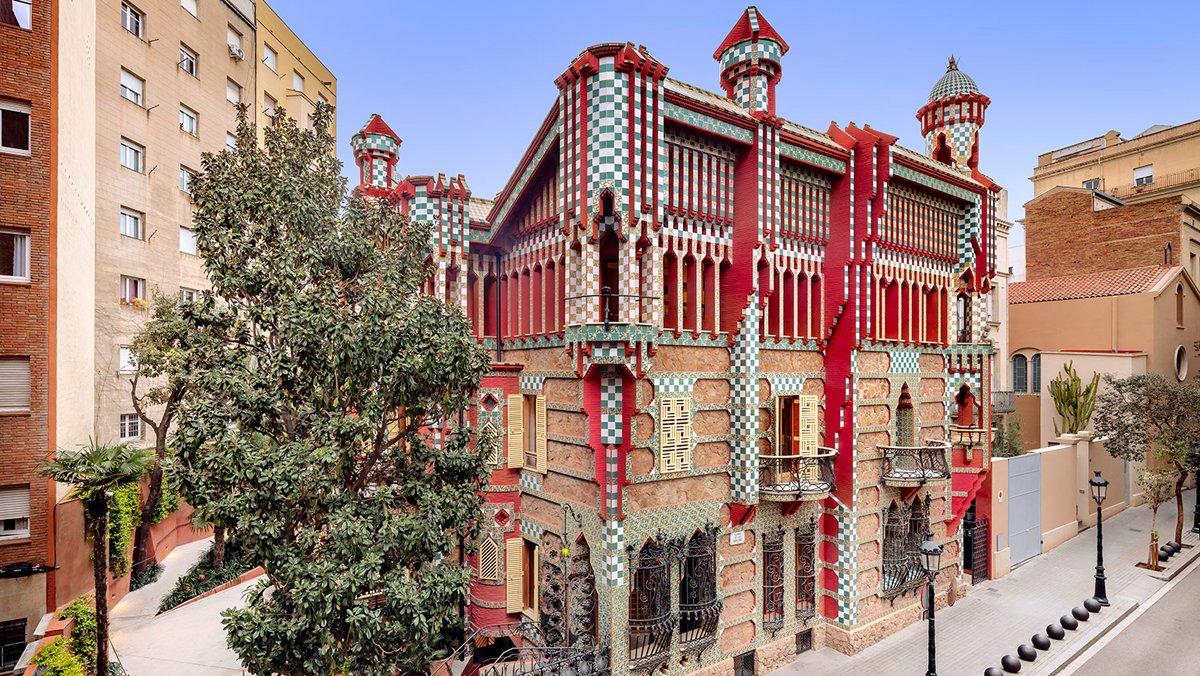 La gaudiniana Casa Vicens obre les portes per oferir un oasi en ple Gràcia